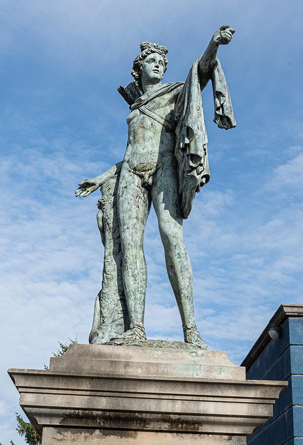 david sharp studio bronze staues Apollo