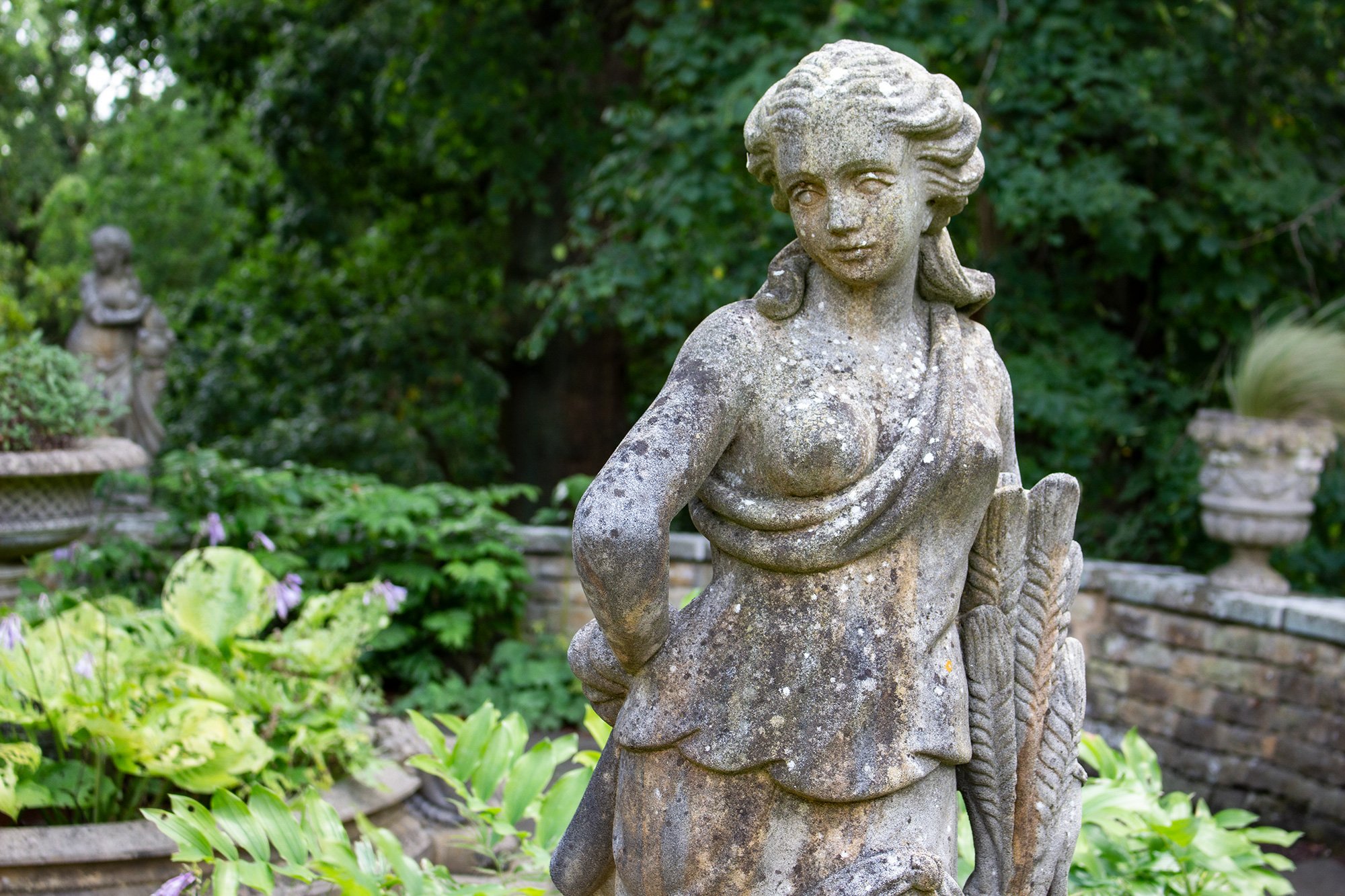 Garden Statues Exclusively by the David Sharp Studio